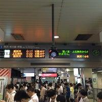 Photo taken at Takadanobaba Station by Peter N. on 6/20/2013