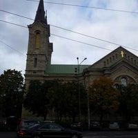 Photo taken at Kaarli kirik by Liisa L. on 10/10/2012