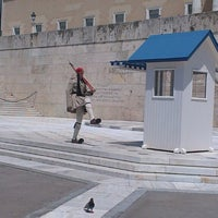 Photo taken at Syntagma Square by Nina V. on 7/8/2013