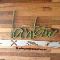 Photo taken at Lantaw Native Floating Restaurant by Chris on 11/5/2012