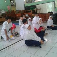 Photo taken at SMP Negeri 15 Serang by Mariana Irwanti P. on 10/12/2012