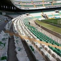 Photo taken at Estadio Manuel Martínez Valero by Roberto M. on 5/10/2013