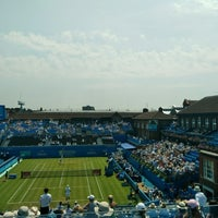 Photo taken at Queen's Club by Alvaro B. on 6/21/2017