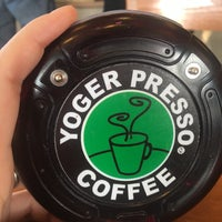 Photo taken at YOGER PRESSO COFFEE by Cea Z. on 4/15/2017