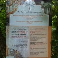 Photo taken at Ivanitská poustevna by Petr N. on 8/28/2014