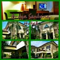 Photo taken at Griya Sentana Hotel by eko P. on 6/29/2013
