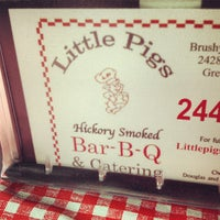 Photo taken at Little Pigs BBQ by Alex R. on 12/11/2012
