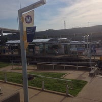Photo taken at MetroLink - Civic Center Station by Avery D. on 6/5/2014