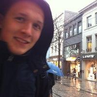 Photo taken at Halte Veldstraat by Pepijn M. on 12/5/2012