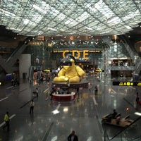Photo taken at Hamad International Airport by Gkcn E. on 12/13/2014