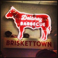 Photo taken at Delaney Barbecue: BrisketTown by Amanda D. on 3/8/2013