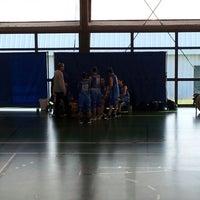 Photo taken at Gymnase Haut-de-Penoy by Marc-Antoine G. on 10/28/2012