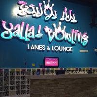 Photo taken at Yalla Bowling Lanes by bader a. on 9/12/2017