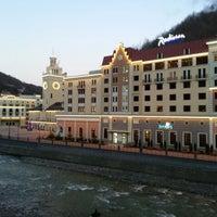 Photo taken at Rosa Khutor Ski Resort by Zaginayko A. on 1/2/2013