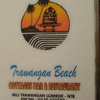 Photo taken at Trawangan Beach Cottages Bar & Restaurant by Wayan S. on 4/21/2013