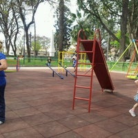 Photo taken at Plaza Belgrano by David C. on 9/22/2012