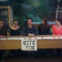 Photo taken at ELTE TÓK HÖK by ELTE TÓK HÖK on 6/1/2014