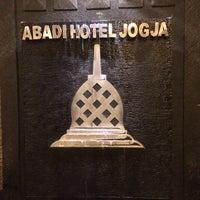 Photo taken at Abadi Hotel Jogja by Orysya on 8/12/2015