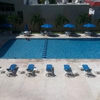 Photo taken at Hotel Bonampak by Eder D. on 10/26/2012