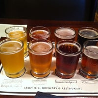 Photo taken at Iron Hill Brewery & Restaurant by Samantha on 5/29/2013