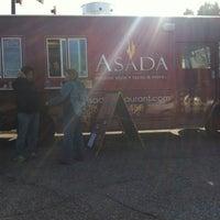 Photo taken at ASADA Food Truck by Samantha on 12/31/2012