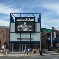 Photo taken at adidas Factory Outlet by Alex G. on 2/28/2017