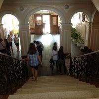 Photo taken at Первая Украинская гимназия им. Н. Аркаса by Katerina S. on 5/22/2013