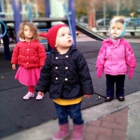 Photo taken at William Sheridan Playground by Kate S. on 11/17/2012