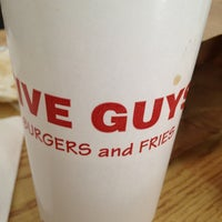 Photo taken at Five Guys by Israel T. on 3/30/2013