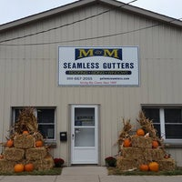 Photo taken at M&M Seamless Gutters Inc by Avada A. on 7/27/2017