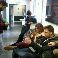 Photo taken at Albergue Juvenil Municipal de Madrid by Ariadna A. on 2/16/2013