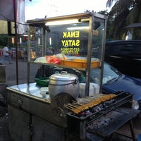 Photo taken at Enak Satay by James A. on 2/12/2013