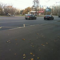 Photo taken at Лукойл АЗС №504 by Татьяна🌺 К. on 10/22/2013