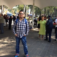 Photo taken at Plaza del danzon by Armando H. on 1/7/2017