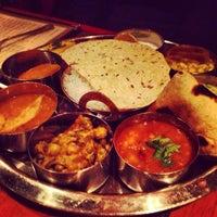 Photo taken at Bhojan Vegetarian Restaurant by lanamaniac on 4/7/2013