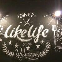 Photo taken at LikeLife Diner by Elliott B. on 2/20/2015