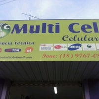 Photo taken at Multi Cell by Lucas T. on 4/1/2013
