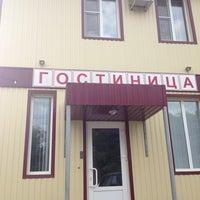Photo taken at Гостиница by Виталий Б. on 7/21/2013