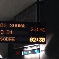 Photo taken at Metro Roma [VD] by Luís B. on 12/31/2013