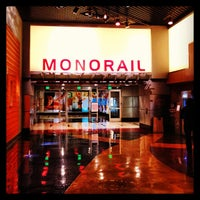Photo taken at Las Vegas Monorail - MGM Grand Monorail Station by Rosa J. on 1/8/2013