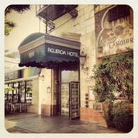 Photo taken at Hotel Figueroa by Rosa J. on 6/12/2013