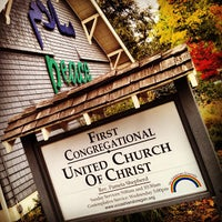 Photo taken at United Church of Christ by Adam W. on 10/22/2012