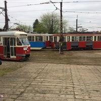 Photo taken at Zajezdnia Tramwajowa Na Brusie by Darek m. on 5/3/2017