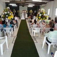Photo taken at Igreja Batista Sal & Luz by Guilherme B. on 9/8/2013