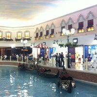 Photo taken at Villaggio Mall by Yonah A. on 10/5/2012