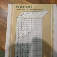Photo taken at Jungle Rumble Adventure Golf by Andrey Z. on 2/21/2013