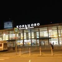 Снимок сделан в Международный аэропорт Кольцово (SVX) пользователем Ksenya M. 6/22/2013