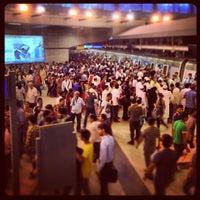 Photo taken at Rajiv Chowk | राजीव चौक Metro Station by Aditya S. on 8/11/2013