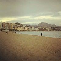 Foto tomada en Playa de La Malagueta por Ana F. el 4/1/2013