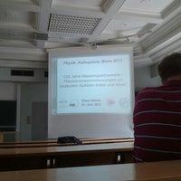 Photo taken at Physikalisches Institut, Hörsaal 1 by Timur Ç. on 6/21/2013